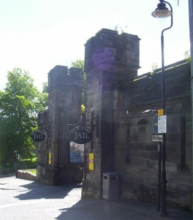 Old Town Jail Entrance