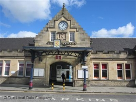 Railway Station, Stirling, Goosecroft Road