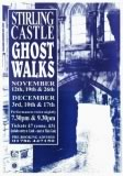 1996 Stirling Castle GhostWalk Poster