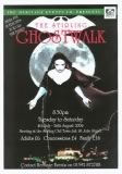 Posters and Flyers that have promoted the Ghostwalks for twenty years