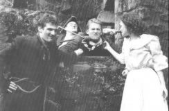 Original GhostWalk Cast Gordon Riddoch David Kinnaird Paul Callaghan and Rochelle MacDonald 1991