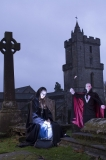 More of Beth Gray and Eric Murdoch promoting the Caledonian Vampyre Ball, part of the Scottish Paranormal Festival 2014. Photo courtesy of VisitScotland