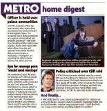 Metro (Scottish Edition) 24th October 2014 - More coverage of the Scottish Paranormal Festival (Jenny Lester, Mark Young and Beth Gray pictured)