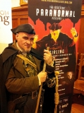 The Happy Hangman at the Press Launch for the Scottish Paranormal Festival at Cowane's Hospital, Monday 1st September 2014