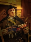 The Hangman settles down to read the newly published programme for the Scottish Paranormal Festival - available at http://en.calameo.com/read/0033972591633562879c5