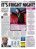 Scottish Daily Mail, Friday 24th October 2014 - promotion for the Scottish Paranormal Festival