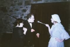Halloween 1992, Lesley Ogg, David Kinnaird and Catriona Cumming as Tibbie Cawker