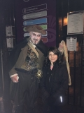 A young miscreant, apprehended by The Hangman on Saturday 4th March 2017 - photo courtesy of Fiona Jones