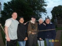 The Stirling Ghostwalks Audiences