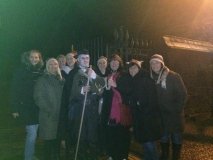 The ladies of Troon, following their GhostWalk on Saturday 29th November (Photo courtesy of Leanne Lovett)