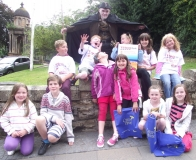 Stirling Libraries 'Creepy House' GhostWalk - 2013 (a)