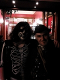 Caroline Allen meets the Hangman at the Caledonian Vampyre Ball - Albert Hall, Stirling, 31st October 2014